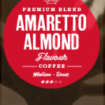 Amaretto Flavoured Coffee Beans
