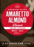 Amaretto Flavoured Decaffeinated Coffee Beans