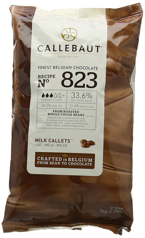 Callebaut MILK Chocolate Chips 1kg