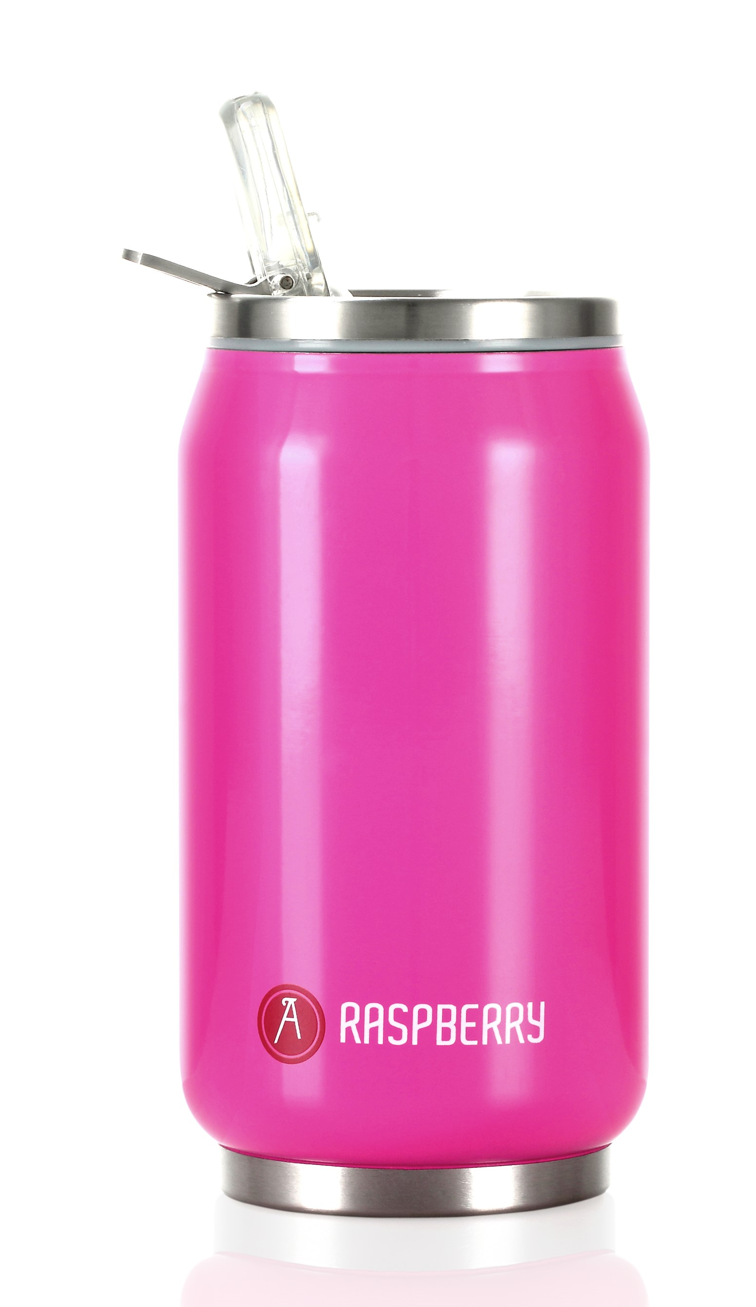 Can 'it 280ml Shiny Pink Double Walled