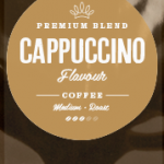 Cappuccino Flavoured Coffee Beans