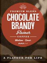 Chocolate Brandy Flavoured Coffee Beans