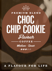 Chocolate Chip Cookie Flavoured Coffee Beans