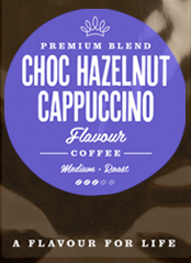 Chocolate Hazelnut Flavoured Coffee Beans