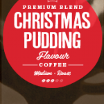 Christmas Pudding Flavoured Coffee Beans