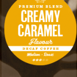 Creamy Caramel Decaffeinated Coffee Beans