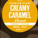 Creamy Caramel Decaffeinated Coffee Beans