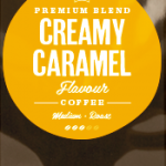 Creamy Caramel Flavoured Coffee Beans