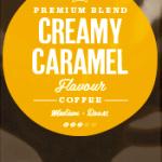 Creamy Caramel Flavoured Coffee Beans