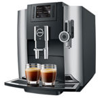 JURA E8 Bean to Cup Coffee Machine in Chrome