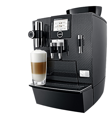 JURA GIGA XJ9 Professional Bean to Cup Machine in Carbon