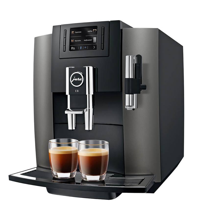Jura E8 Bean to Cup Machine Dark Innox
