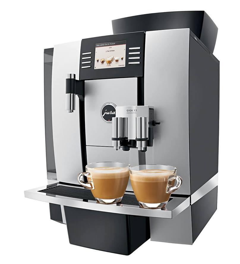 JURA GIGA X3 Professional Bean to Cup Machine in Aluminium