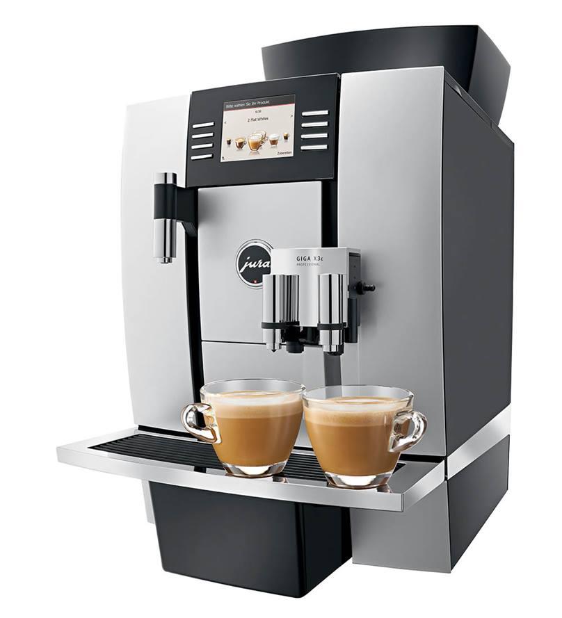 JURA GIGA X3C Professional Bean to Cup Machine in Aluminium
