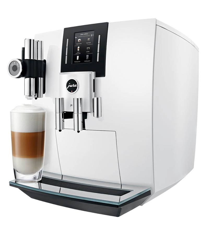 Jura Impresa J6 Bean to Cup Machine White