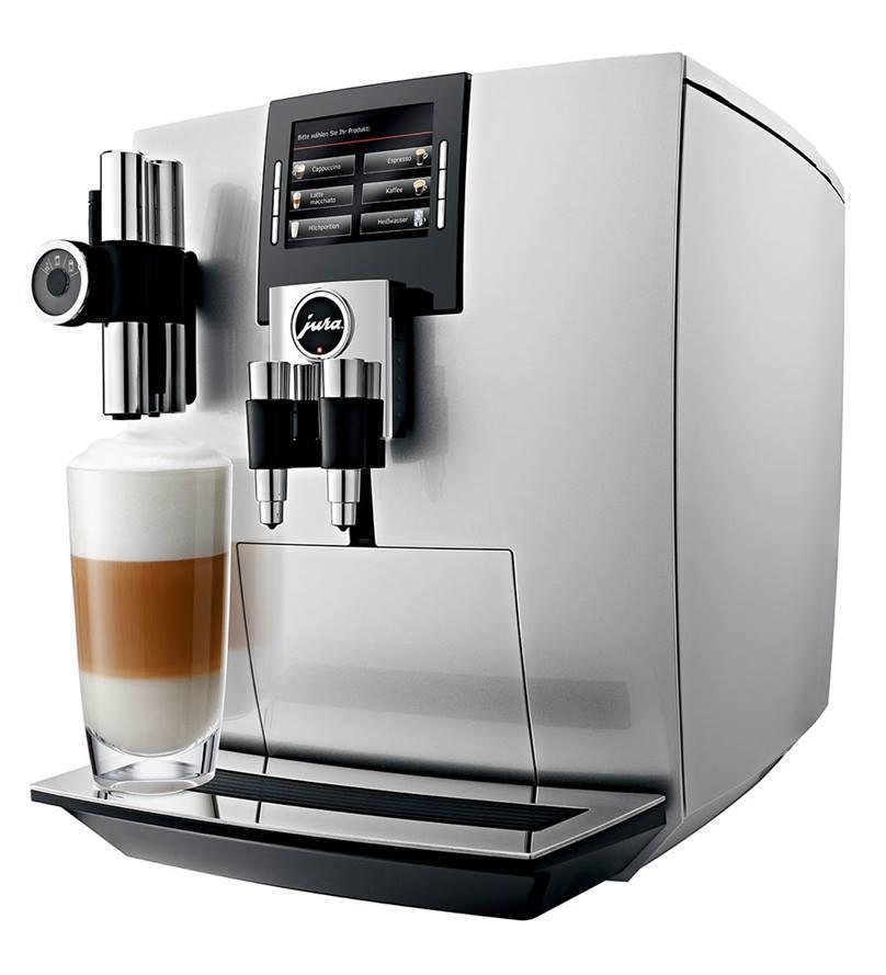 Jura Impressa J90 Bean to Cup Machine Silver
