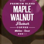 Maple Walnut Flavoured Coffee Beans