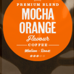 Mocha Orange Flavoured Coffee Beans