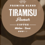 Tiramisu Flavoured Coffee Beans