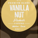 Vanilla Nut Flavoured Coffee Beans