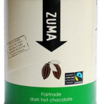 Zuma Fairtrade Dark Hot Chocolate Powder 2 kilo tub