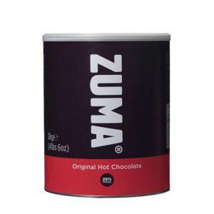 Zuma Fairtrade Original Hot Chocolate Powder 2 kilo tub
