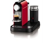 KRUPS Nespresso Citiz Red and Aerocinnico