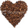 Coffee Bean Love Heart