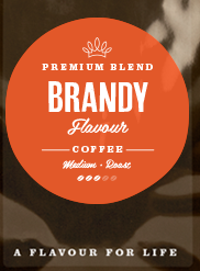 Brandy Flavoured Coffee Beans