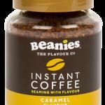 Caramel Instant Coffee Jar