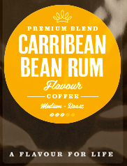 Carribbean Rum Flavoured Coffee Beans