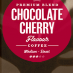 Chocolate Cherry Flavoured Coffee Beans