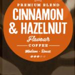 Cinnamon & Hazelnut Flavoured Coffee Beans