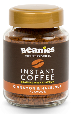 Cinnamon & Hazelnut Instant Coffee Jar
