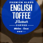 English Toffee Flavoured Coffee Beans