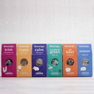 Teapigs Feel Good Bundle of Tea x6