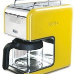 Kenwood KMix Filter Machine in Yellow