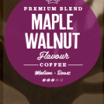 Maple Walnut Flavoured Coffee Beans
