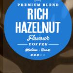 Rich Hazelnut Flavoured Coffee Beans