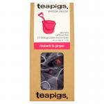 Teapigs Rhubarb & Ginger Teabags