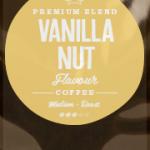 Vanilla Nut Flavoured Coffee Beans