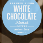 White Chocolate Flavoured Coffee Beans
